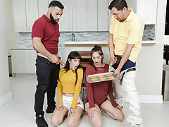 Kitten Carrera and Sofie Reyez are besties. When Sofie comes over to visit, she finds herself locking eyes in the kitchen with Mr. Carrera, Kittys dad. When Mr. Reyes, her dad, demonstrates up, Mr. Carrera explains that their daughters are both still virg
