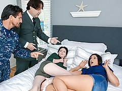 In part two, Miranda was throat and labia fucked by Athena's father until she started to think a bit more clearly. Occasionally getting frightened hetero is the only way to turn your life around!